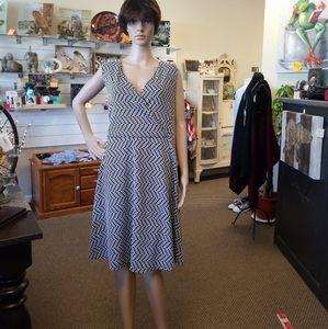 Lane Bryant dotted dress